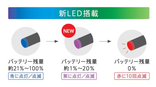 プルームテック led 紫