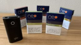 glo(グロー)専用の「neo(ネオ)」 の新 5 銘柄を徹底検証!